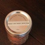 label on canning jar
