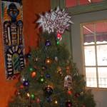 Alana's Restaurant christmas tree