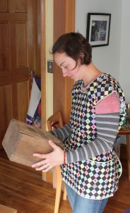 handmade upper apron