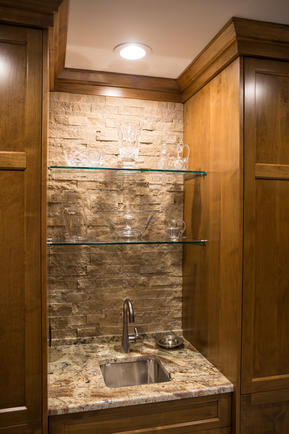 Choice Wood Served As The General Contractor And Completed The  Construction, Including The Custom Cabinets. Jeannie Blenkush Worked With  The Client To ...