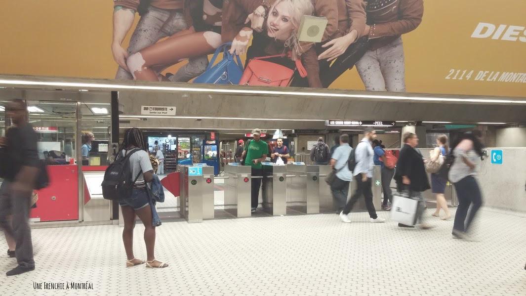Station métro Sherbrooke