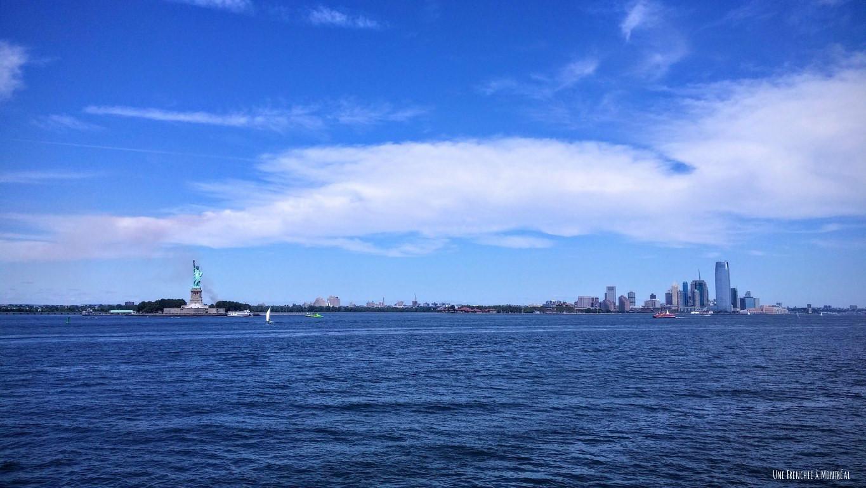 Statue de la liberté - île de Manhattan