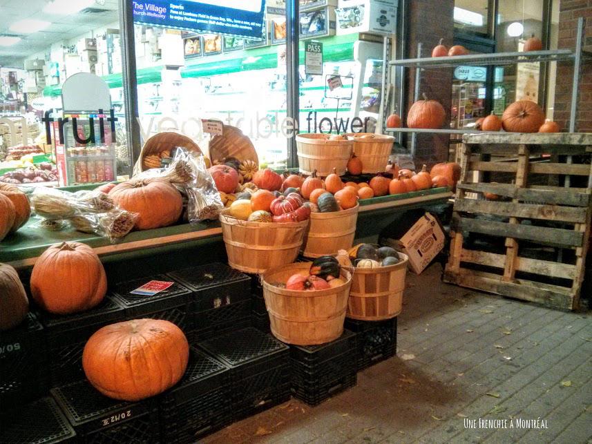 pumpkins / citrouilles