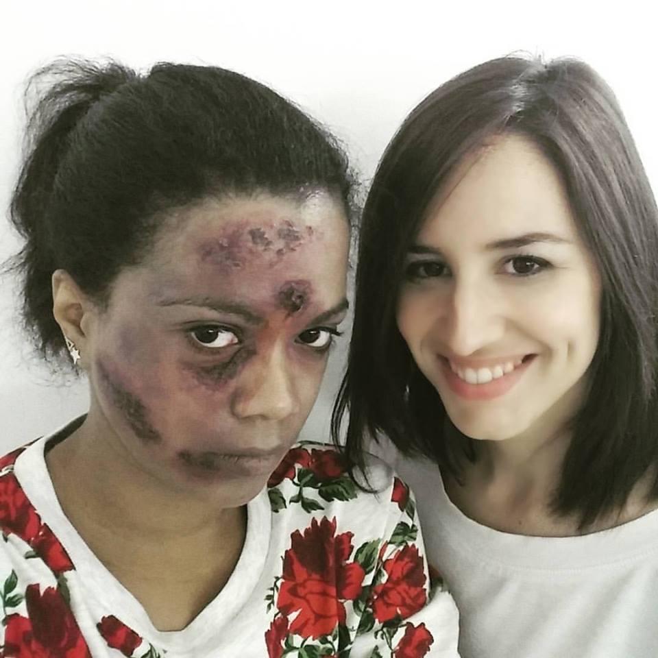 maquillage zombie SLA