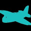 1bbfbf_Airplane_128px