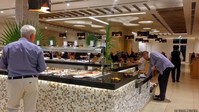 buffet hôtel Ocean Vista Azul