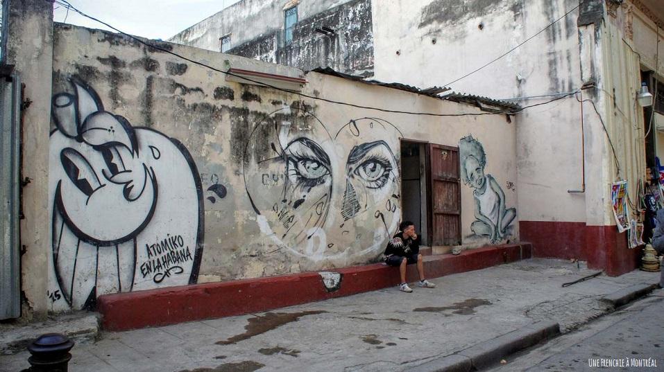 rue havane graffiti