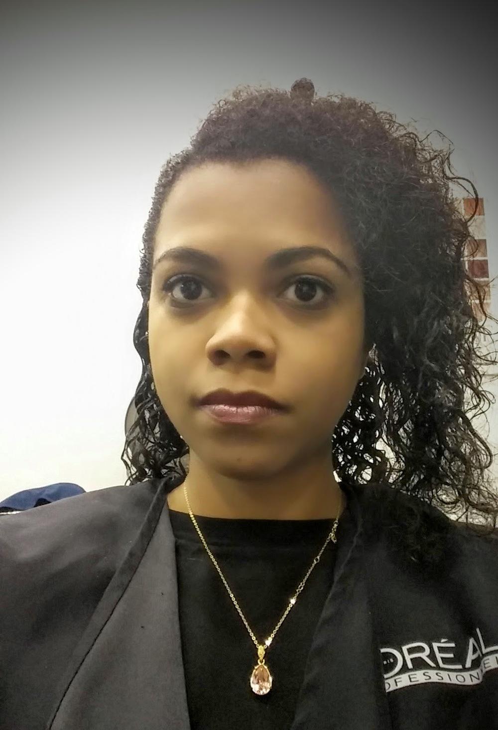 Mes cheveux après les shampoings, ouhhh ça sent la frisette !