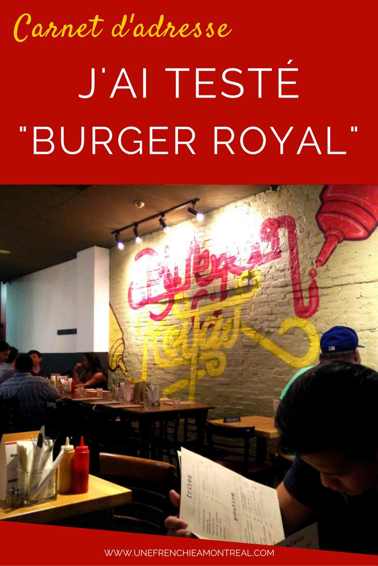 """Cette semaine à Montréal, c'était la  burger week  et ça tombait vraiment bien. Parce que non seulement Monsieur V.I.E et moi on adore les burgers, mais parce qu'en plus cette semaine on recevait des amis venus tout droit de France. Quoi de mieux qu'un bon burger pour les accueillir ? Eh non, je ne veux pas entendre le mot """"poutine"""". #restaurant #burger #montreal"""