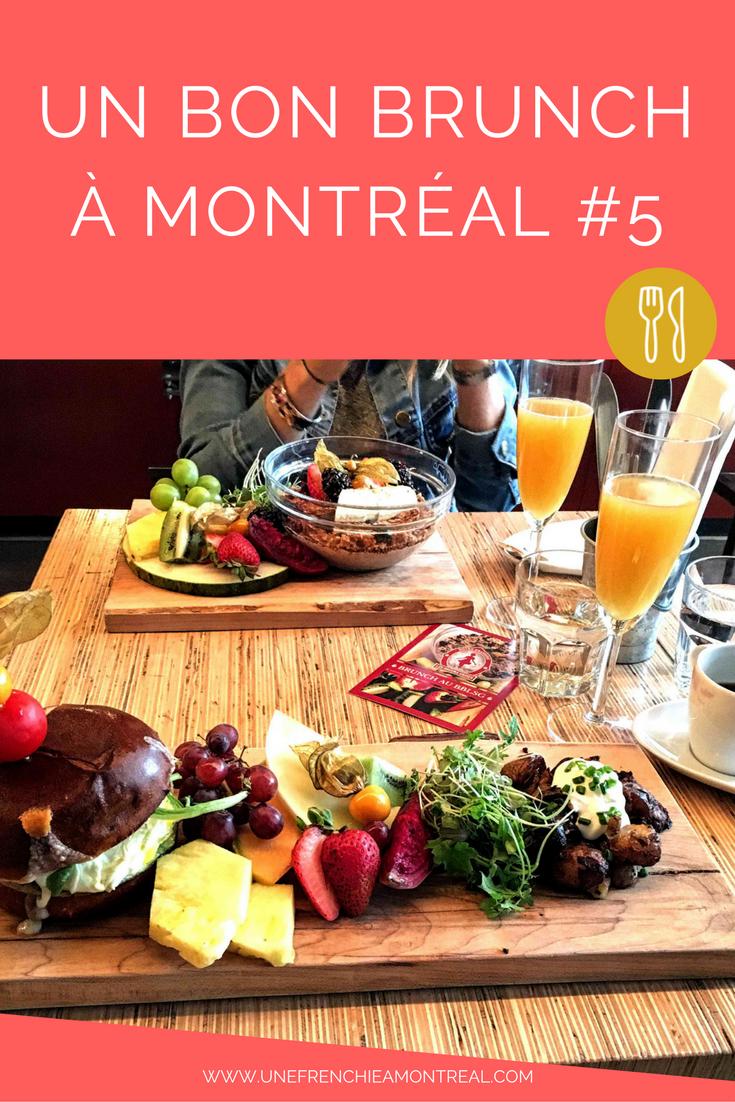 Le brunch à Montréal, c'est une institution. Je ne sais pas vous, mais moi, le brunch du dimanche j'adore ça ! Le plaisir de sortir, de ne pas avoir à cuisiner et de bien manger, je suis une adepte (surtout sur les deux derniers points). Je suis toujours à l'affût d'une bonne adresse. #brunch #restaurant #montreal