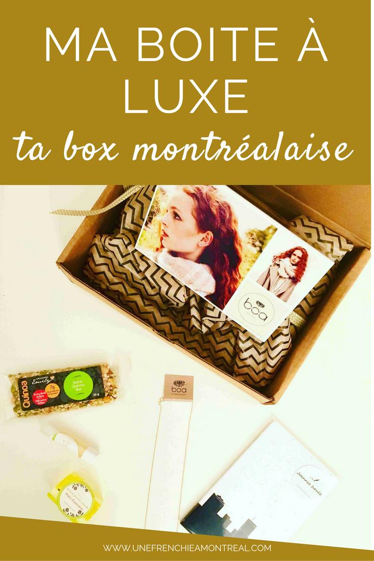 Découvrir dans ma boite aux lettres chaque mois une boite surprise, je suis déjà toute conquise à ce concept.Quand Boa bijoux m'a approché pour me proposer de découvrir leur nouvelle box, je ne vous mentirai pas ... #coffretcadeaux #cadeaux #montreal