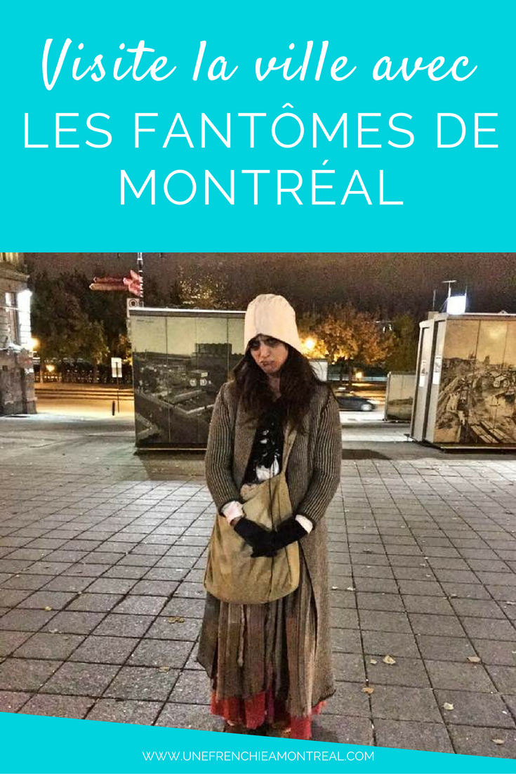 As-tu déjà eu l'occasion de découvrir le Vieux-Montréal raconté par ses fantômes qui y rodent ? Moi, oui ! A l'occasion de la fête d'Halloween, j'ai tenté cette visite de la ville hors-norme et on peut dire que ça été des plus surprenants... #halloween #montreal #visite