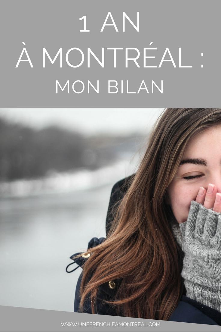 bilan 1 an expatriation montreal