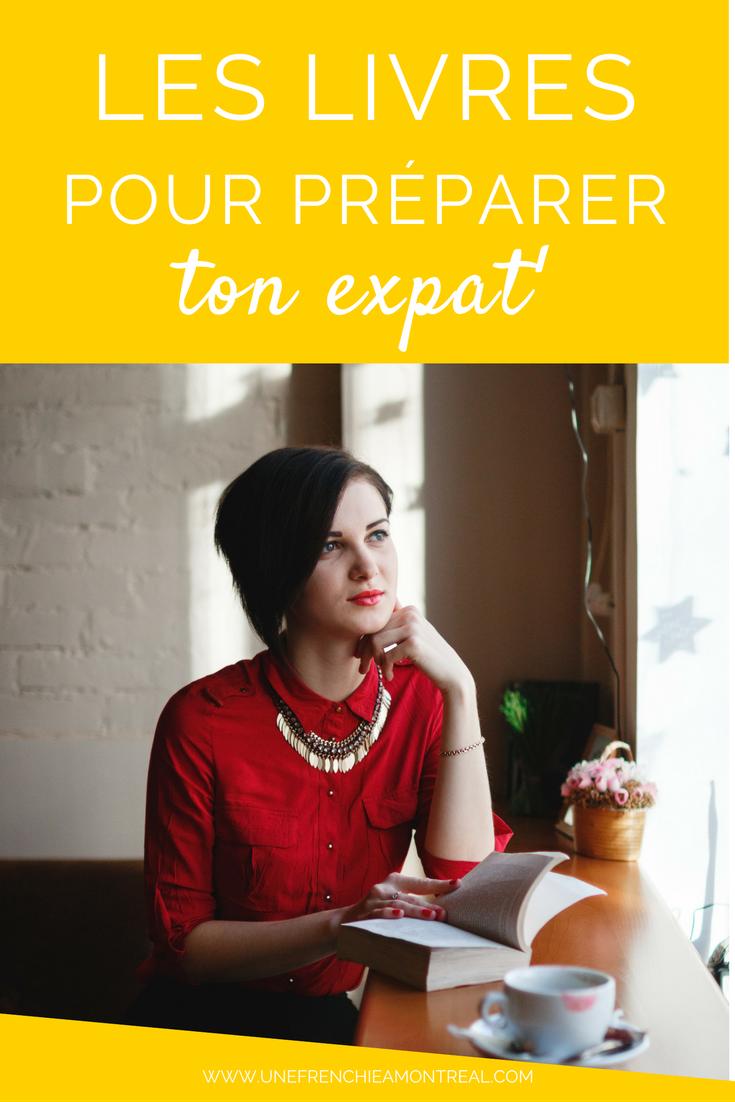 livres pour préparer expatriation montreal