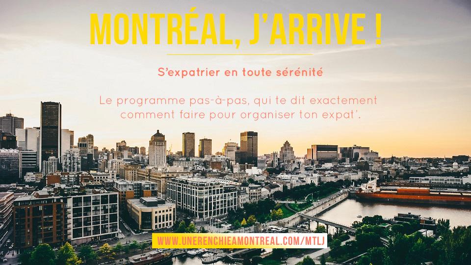 Montréal, J'arrive !