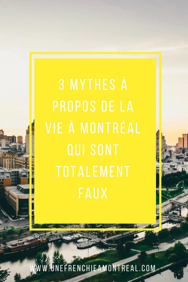 3 mythes à propos de la vie à Montréal qui sont totalement faux