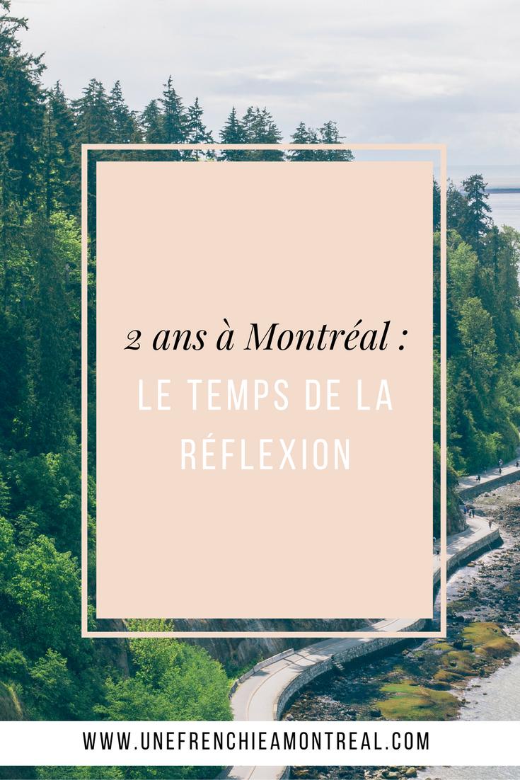 Deux ans que ma vie a pris un court totalement inattendu en posant mes valises à Montréal. A l'heure de renouveler mon permis de travail, au poste de frontière, faisons le point.  #montreal #expatriation #viedexpat
