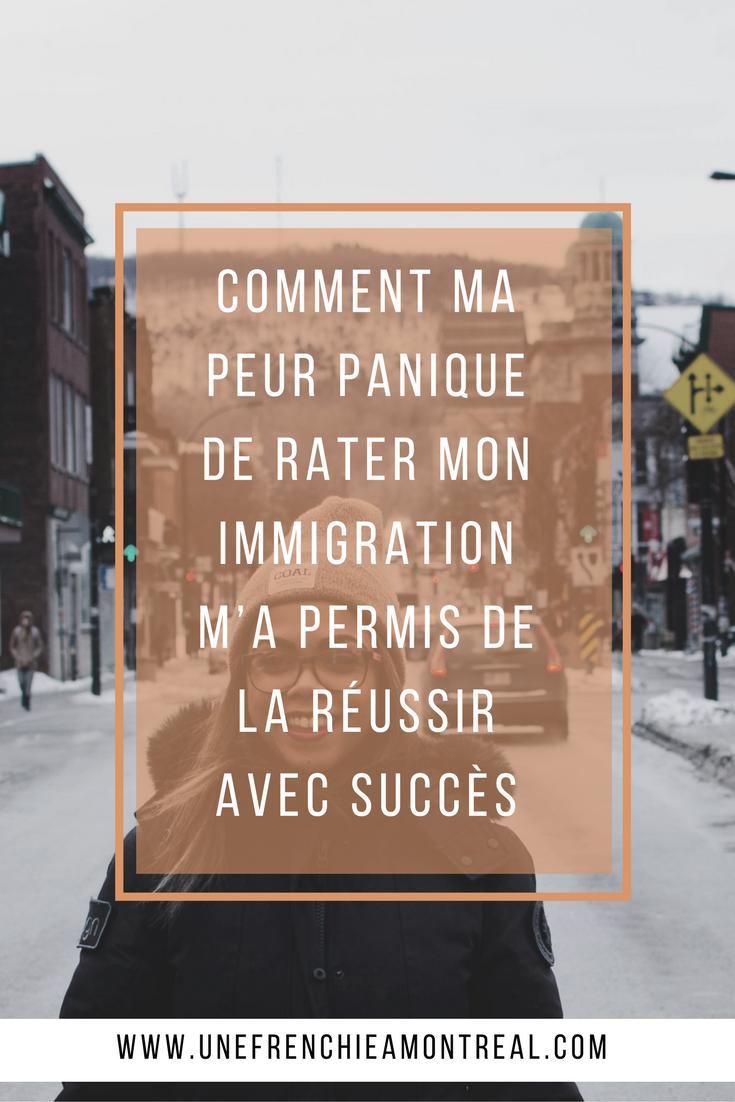 Si beaucoup décrivent une envie folle de quitter la France pour fuir tout un tas de choses, ce n'était pas mon cas. Bien au contraire, j'étais bien installée et il était difficilement envisageable pour moi de devoir tout recommencer. Alors, parce que j'ai commencé à paniquer à l'idée de rater mon immigration et d'avoir pris la pire décision de ma vie, j'ai commencé à me préparer à mon plus gros challenge.  #montreal #expatriation #viedexpat