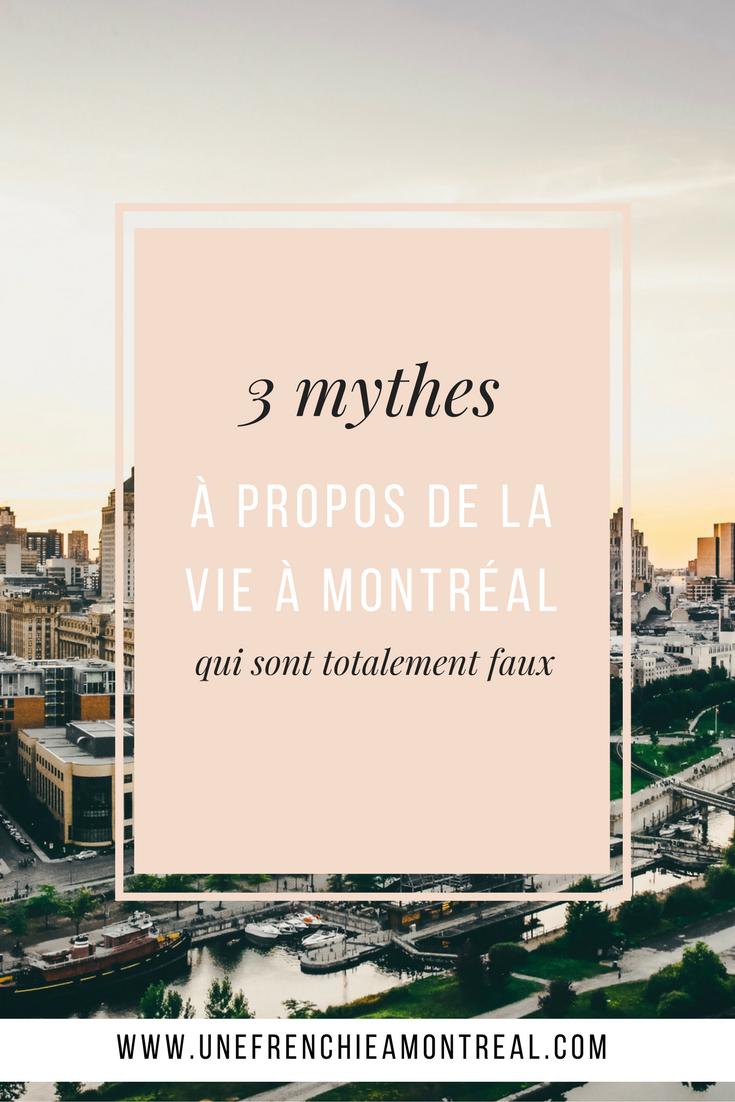On entend tellement de choses positives autour de la vie au Canada ! Et si le portrait n'étais pas aussi rose qu'on veut bien nous le laisser croire ? J'ai pour toi au moins 3 mythes à propos de la vie à Montréal qui sont totalement faux.  #montreal #expatriation #viedexpat