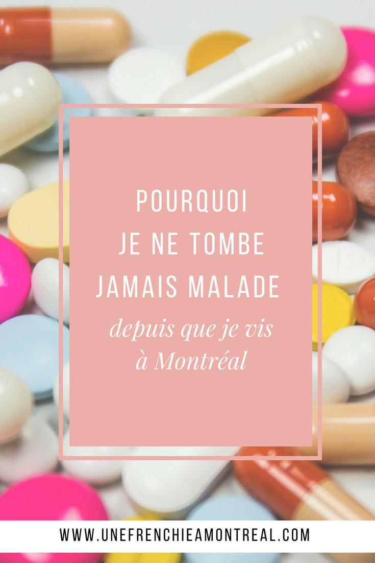 Vivre à l'étranger c'est super, mais le jour où tu dois faire face à des choses aussi simples que d'aller voir un médecin, je te garantie que tu ne trouves tout de suite pas ça aussi extraordinaire comme expérience. Découvre pourquoi je ne tombe jamais malade depuis que je vis à Montréal. #expatriation #montreal #frenchexpat #maviedexpat