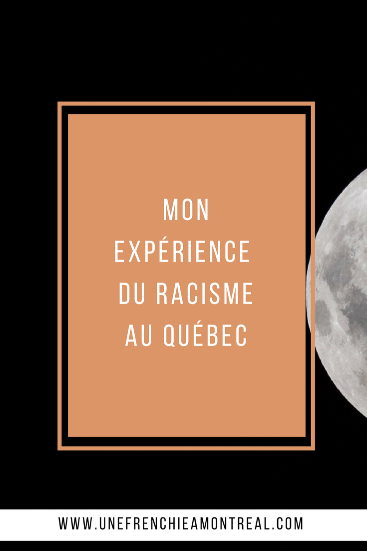 Oh le Québec, cette douce terre d'accueil et d'immigration. La Terre promise est-il aussi parfaite qu'on nous ne la décrit ? Ma petite mésaventure me laisse penser que les choses sont sûrement plus complexes que l'on ne se l'imagine. #racisme #montreal #viedexpat