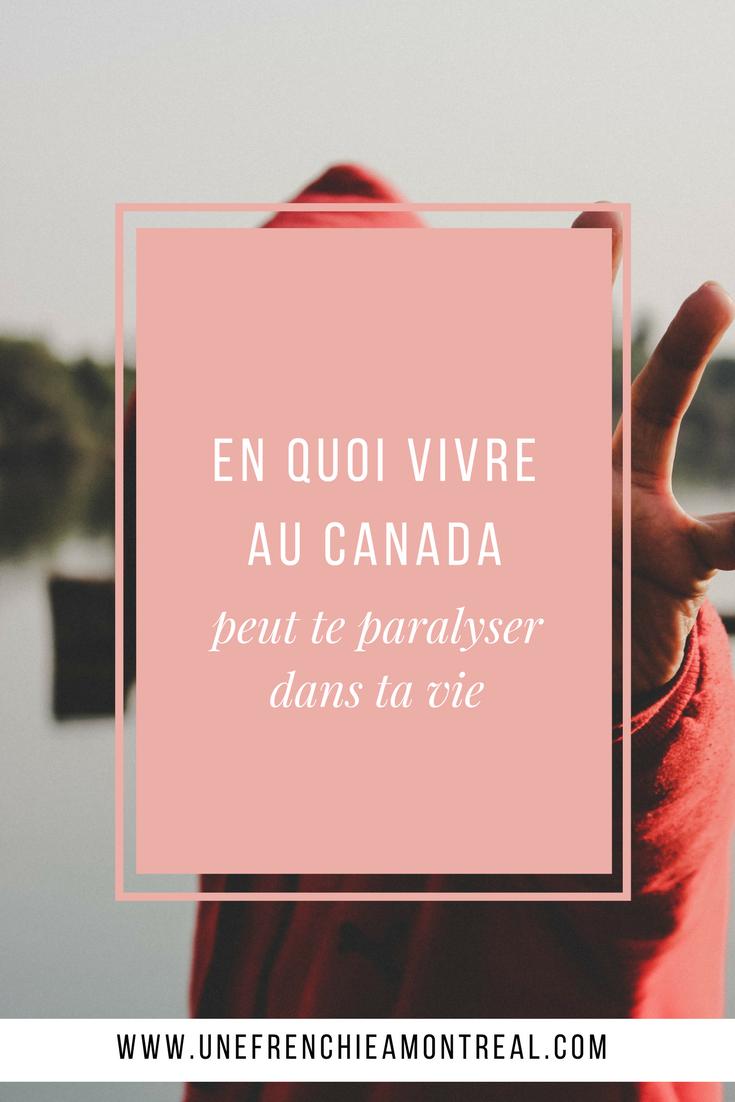 Vivre au Canada est toujours vu comme une expérience positive par la plupart des gens. Mais est-ce vraiment toujours le cas, quoiqu'il arrive ? #expatriation #montreal #frenchexpat #maviedexpat #canada