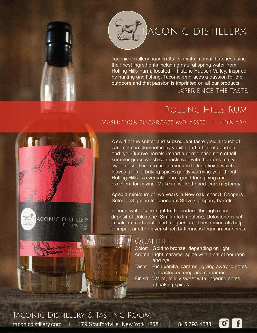Rolling Hills Rum