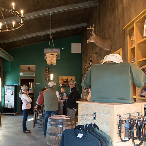 TASTING ROOM - Open Saturdays from noon to 6p and Sundays from noon to 5p.
