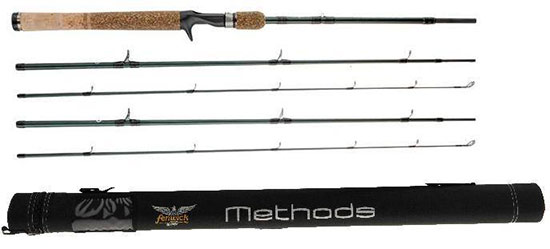 If you only need a few rods, three- or four-piece travel rods might be ideal for you.