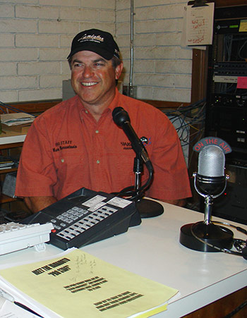 Marc with doing Bubba's morning radio show.