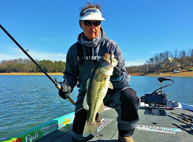 Cold weather and a tough bite made Lake Cherokee a true challenge.