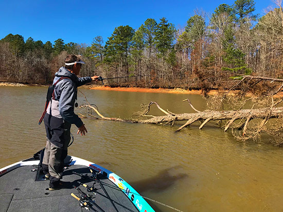 "Our season began on Lake Martin, one of the best ""numbers"" fisheries in the country."