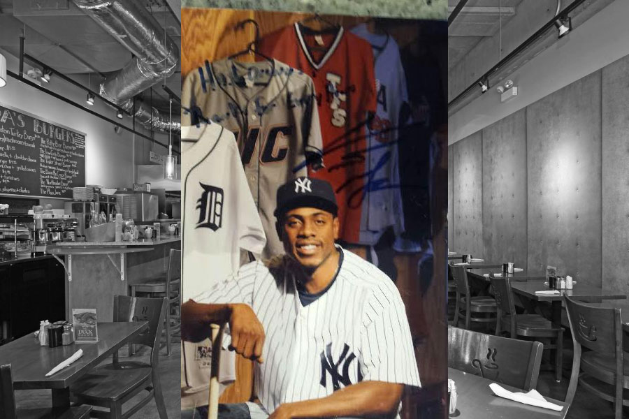 NY Yankee's Curtis Granderson
