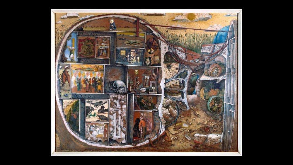 The Maze  by Kurelek