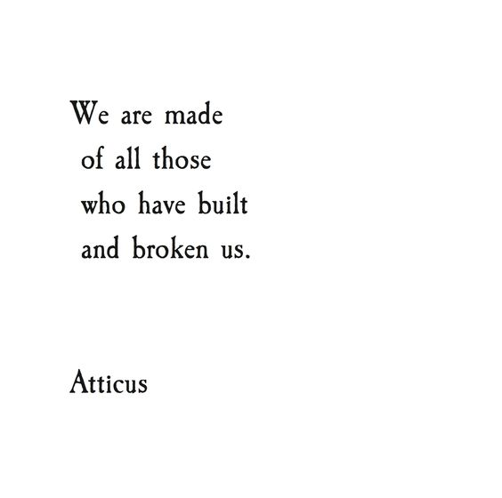 From the Instagram account of  Atticus