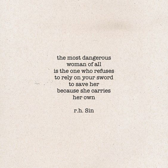From the Instagram account of r.h. Sin