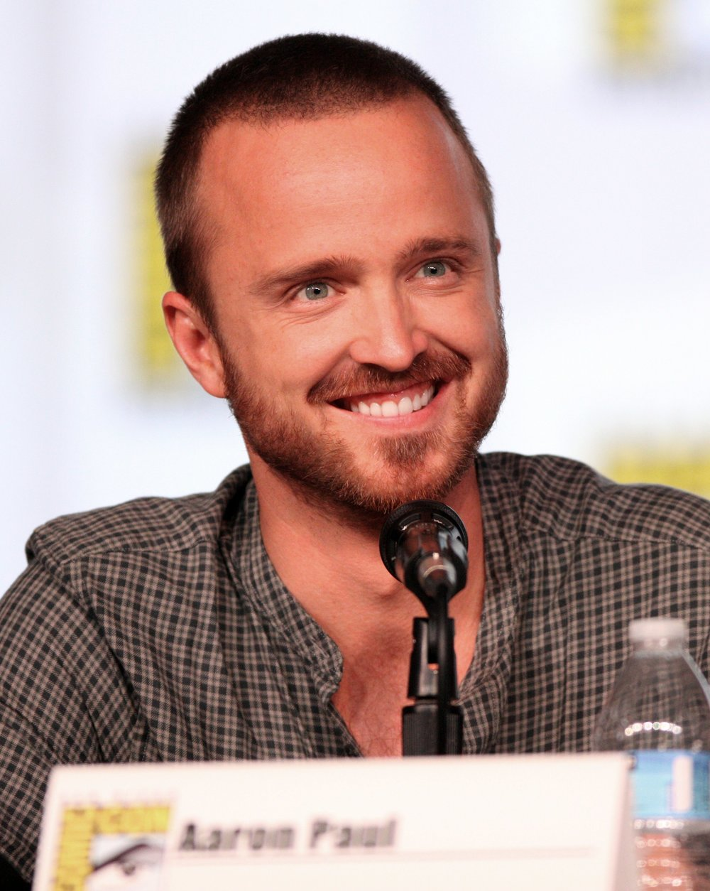 Aaron Paul, the actor who brings Todd's animated character to life, as photographed by Gary Skidmore
