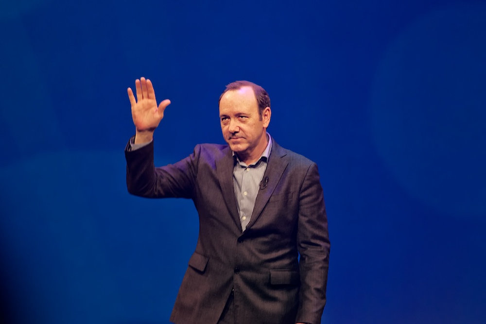 Kevin Spacey, the actor who has inappropriately deflected claims of sexual assault by coming out.