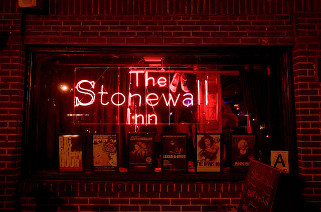 The Stonewall Inn, famed bar and origin of the riots that initiated pride demonstrations in 1969
