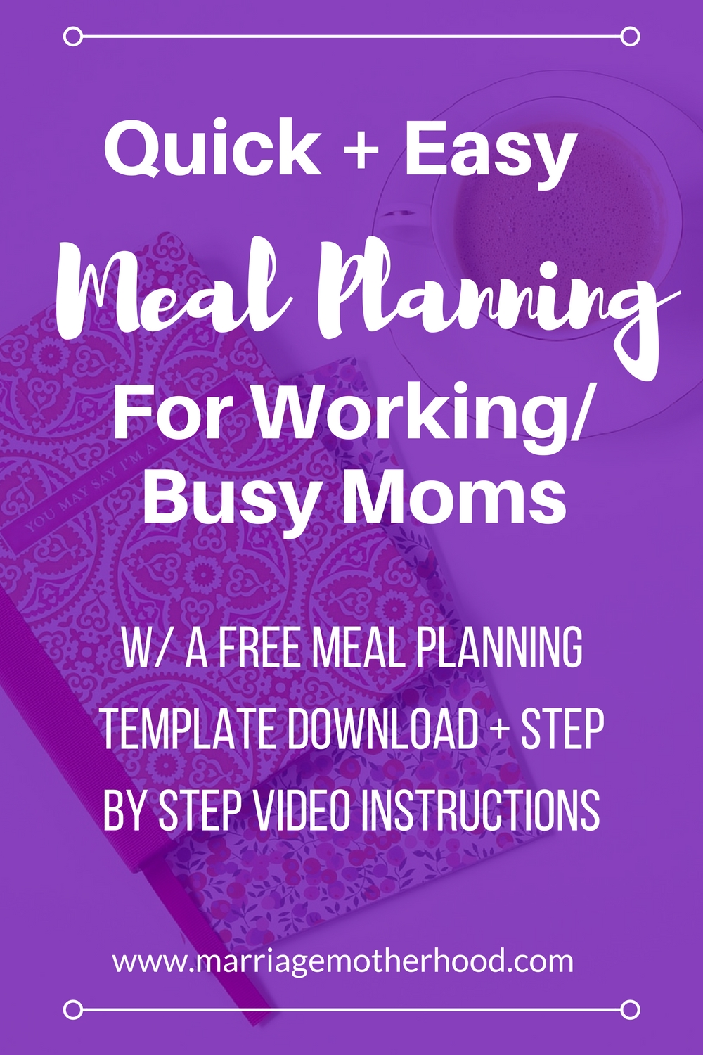meal planning on a budget marriage motherhood