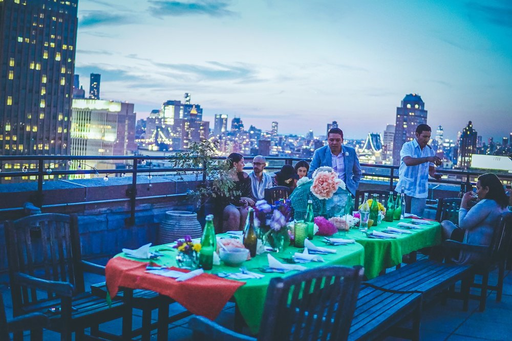 Private Party, NYC - Produced and catered events focusing on celebrating Mexican culinary traditions & decor.