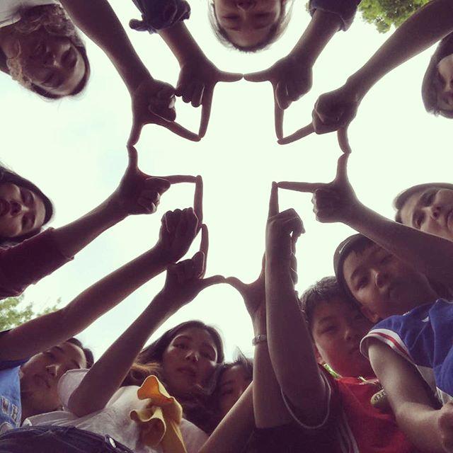 우리는 예수 안에 한가족👨👩👧👦🏠 #전교인수련회2018⛪️ #사랑입니당❤️