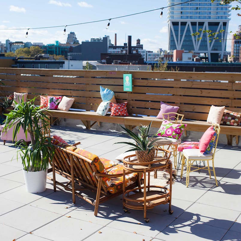 instagram garden, rooftop lounge, and more