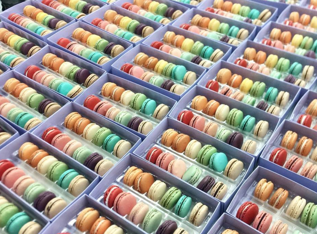 MACARONS    Macaron Parlour    Few places make tasty AND cute macarons and Macaron Parlour is on the top of our list!