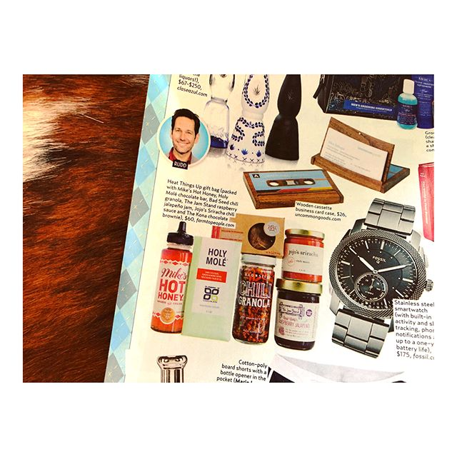 Us WEEKLY selected Chili Granola and some other hotties as one of its go-to gifts for Father's Day! Thanks @usweekly, @farmtopeople for giving us some love, and Prince Harry for being red-hot! 😘😘🔥#GranolasEvilTwin #ChiliGranola