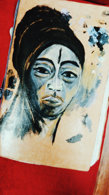 Christina's Vagabroad Journal, a Mantra Cahier from the AKANBI collection