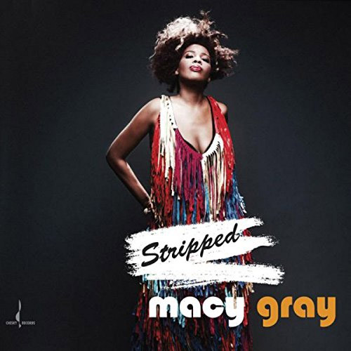 Macy Gray's new album,  Stripped  is Christina's choose for journaling music.