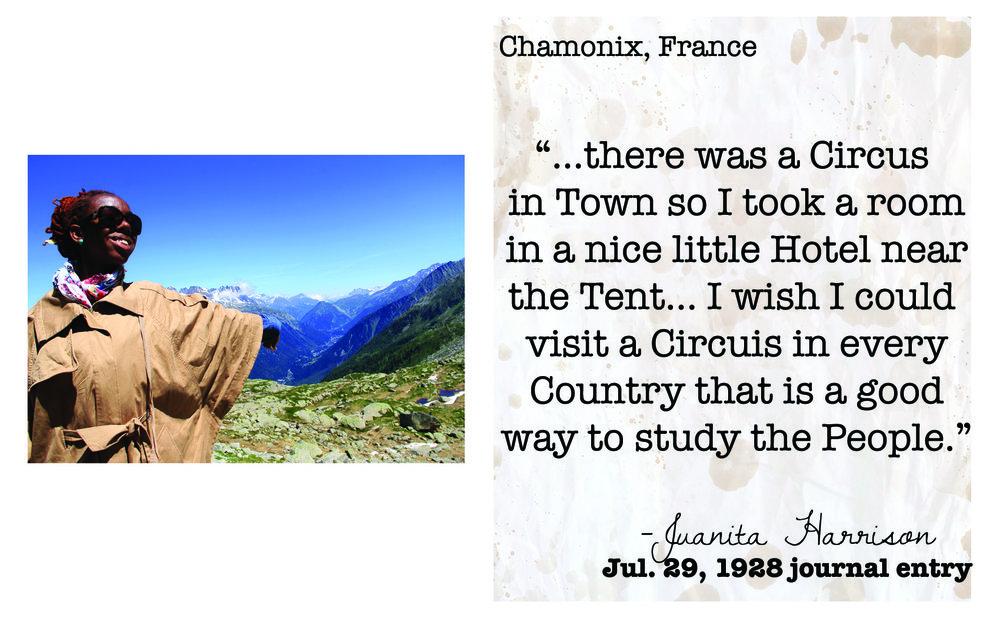 ME in Chamonix, France in 2012