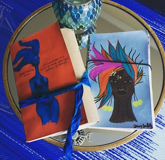 "More of Rosie's VGB journals from the ""Until this is Over..."" and ""She Garden"" series..."