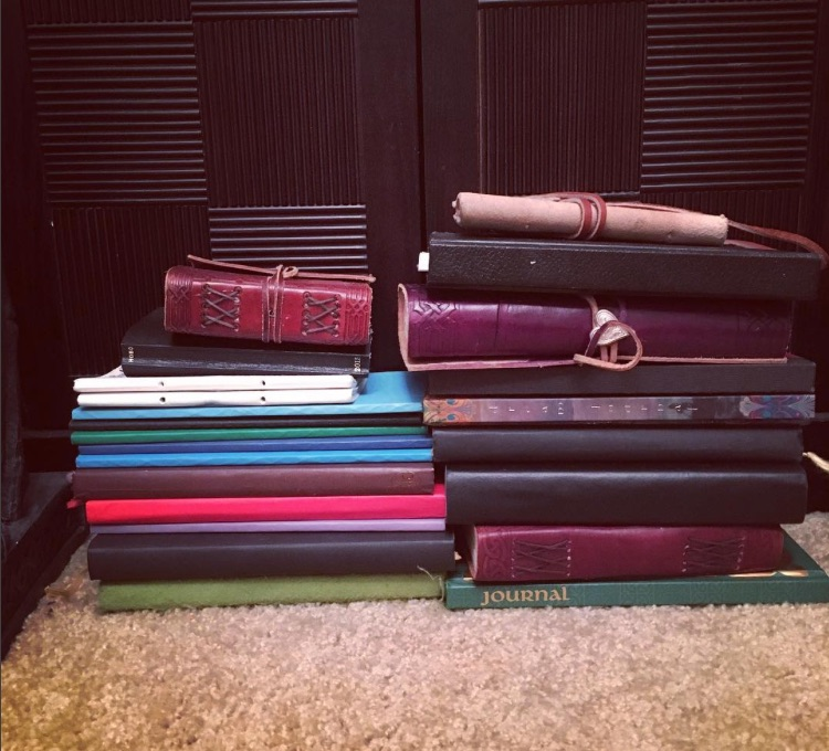 Dionne's completed journals, 1994-2004